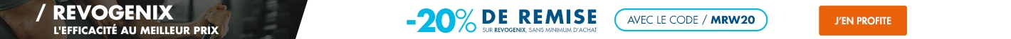 Revogenix : -20% sur toute la gamme avec le code MRW20