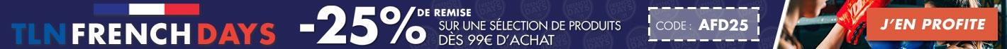 Les French Days TLN : 25% de remise sur une sélection