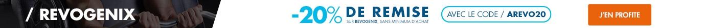 Revogenix : -20% sur toute la gamme avec le code AREVO20