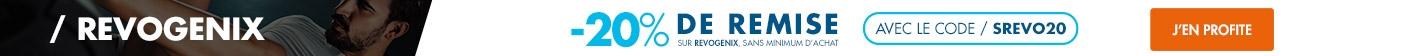 Revogenix : -20% sur toute la gamme avec le code SREVO20