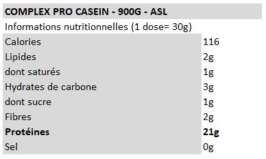 Complex Pro Casein - ASL