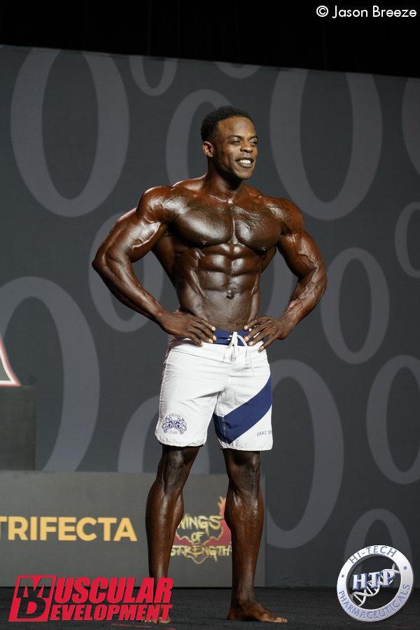 Andre Ferguson, 2ème en Men's Physique