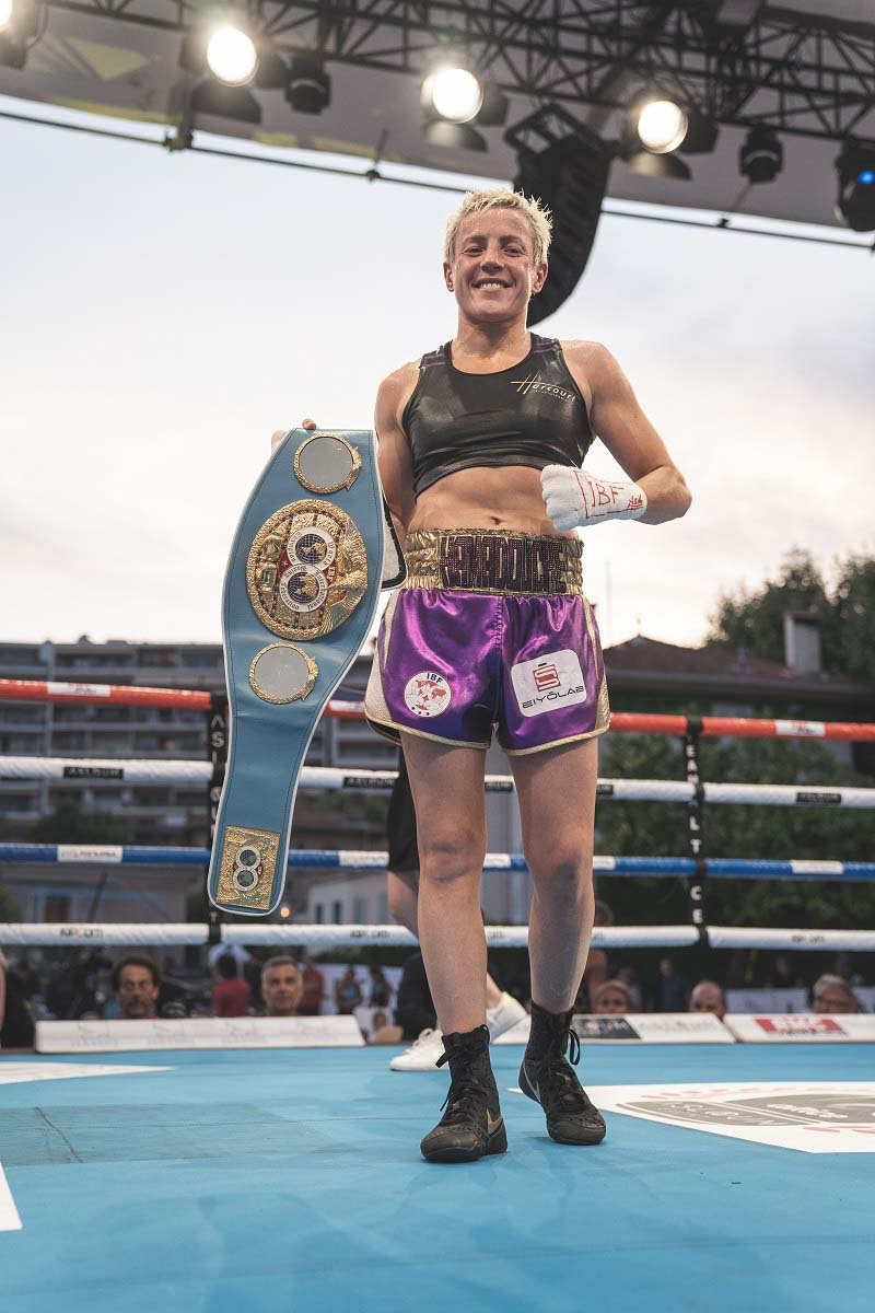 6ème titre mondial pour Maiva Hamadouche