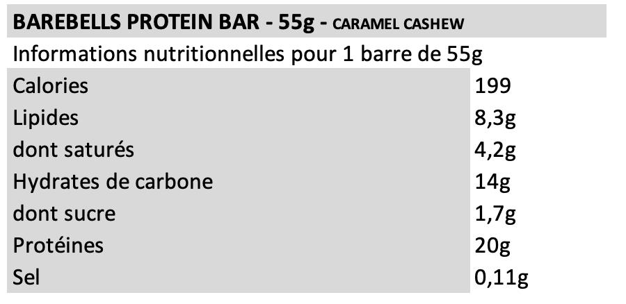 Barebells Caramel Cashew