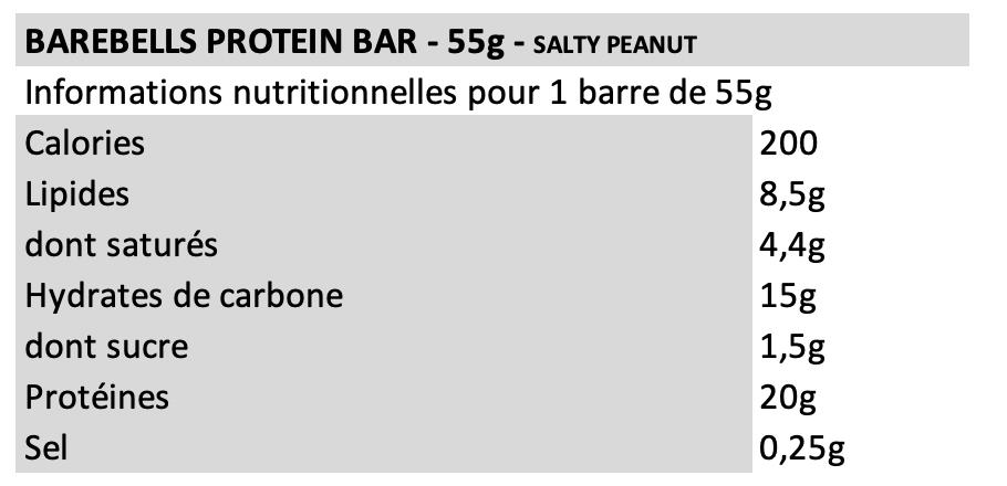 Barebells Salty Peanut