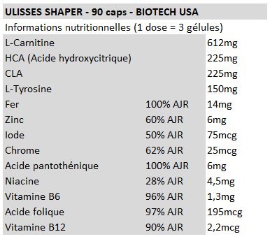 Ulisses Shaper - Biotech USA