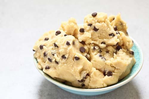 Pâtes à cookies protéinée
