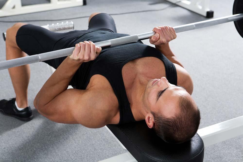 Couché prise serrée triceps