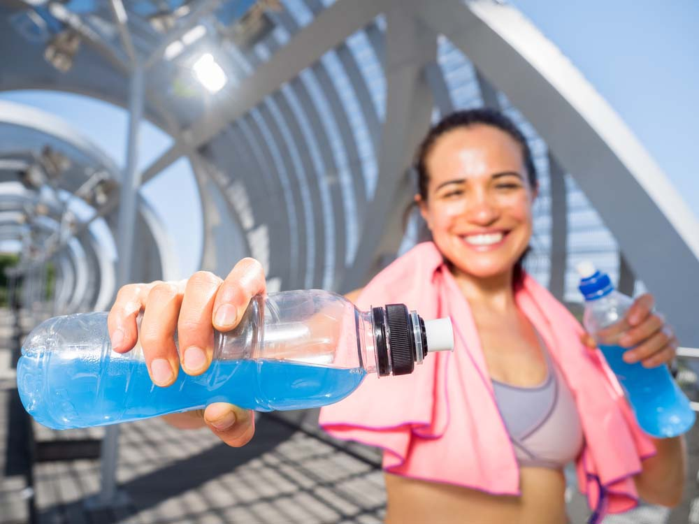 Hydratation et forme physique