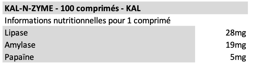 Kal-n-zyme - KAL