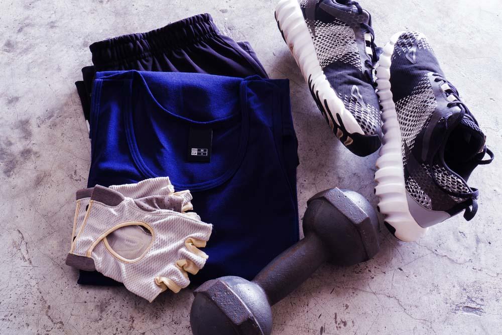 la bonne tenue de sport en musculation