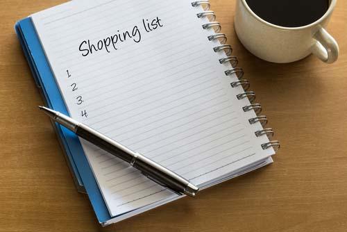 La liste shopping musclée