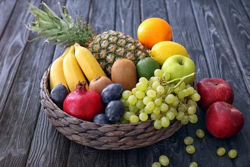 Les fruits et la définition musculaire