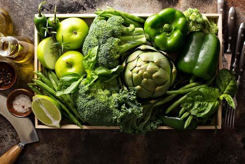 Les légumes verts et la perte de poids