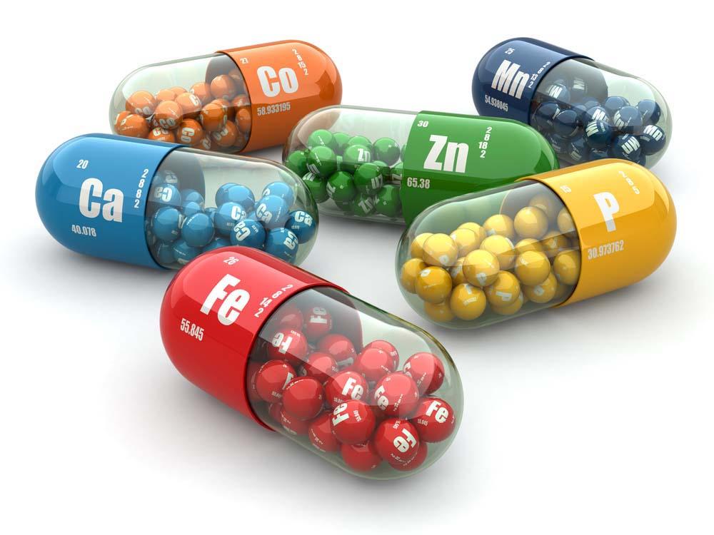 Les vitamines et minéraux