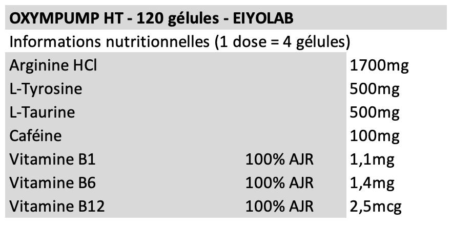 Oxypump HT - Eiyolab