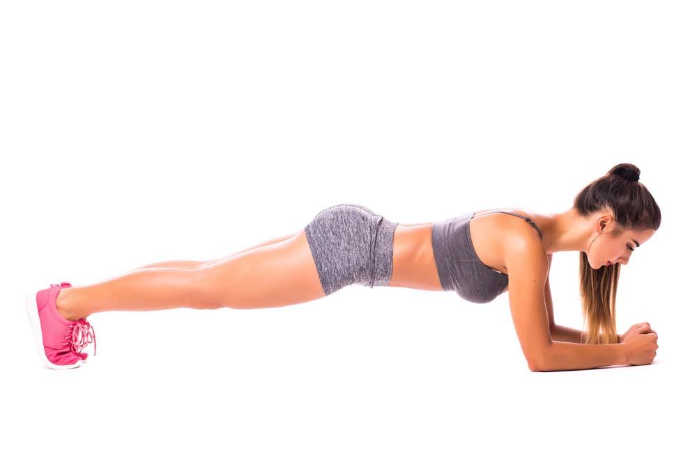 Planche gainage abdominaux
