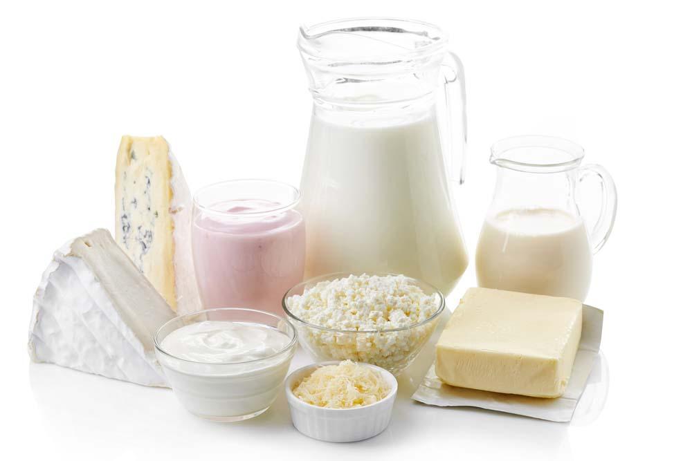 Produits laitiers et musculation
