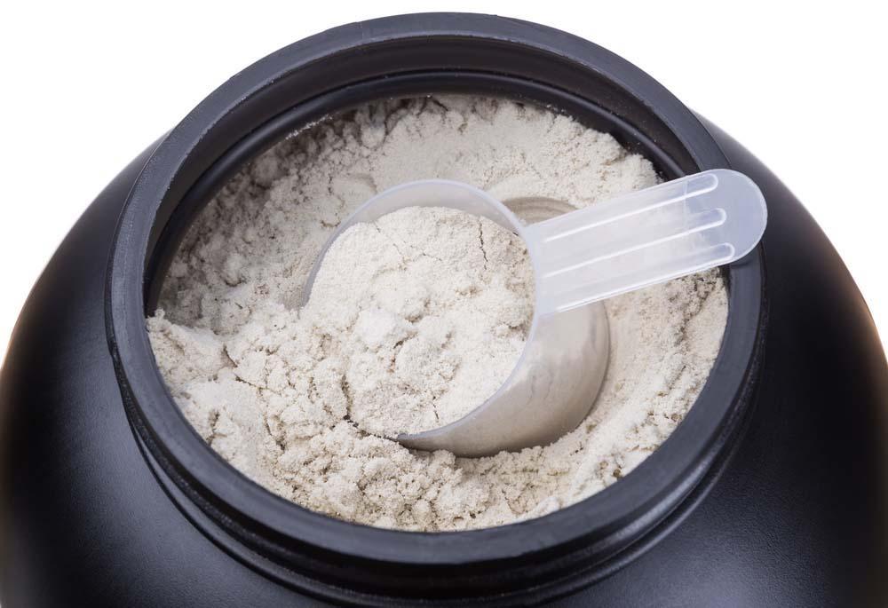 Les protéines en poudre