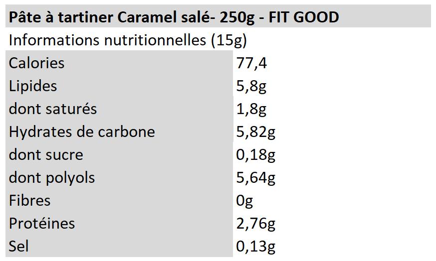 Protein Spread - Caramel Salé - Fit Good