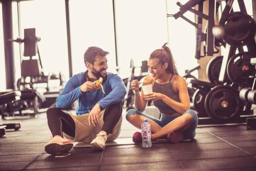 Que manger avant le sport?