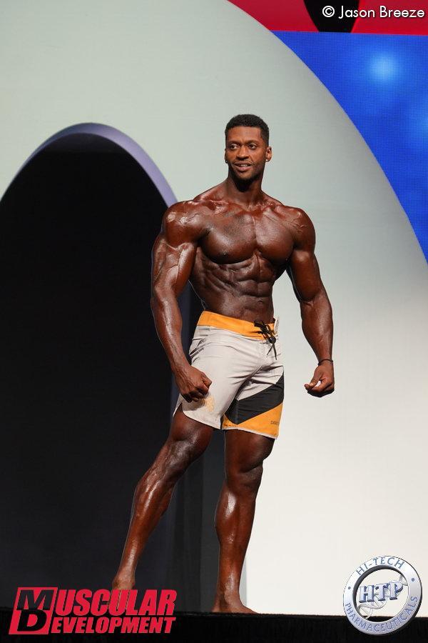 Raymont Edmonds, vainqueur en Men's Physique