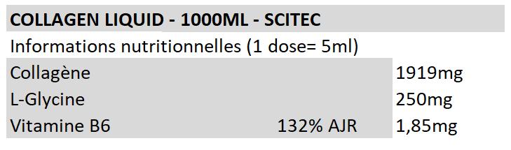 Collagen Liquid - Scitec