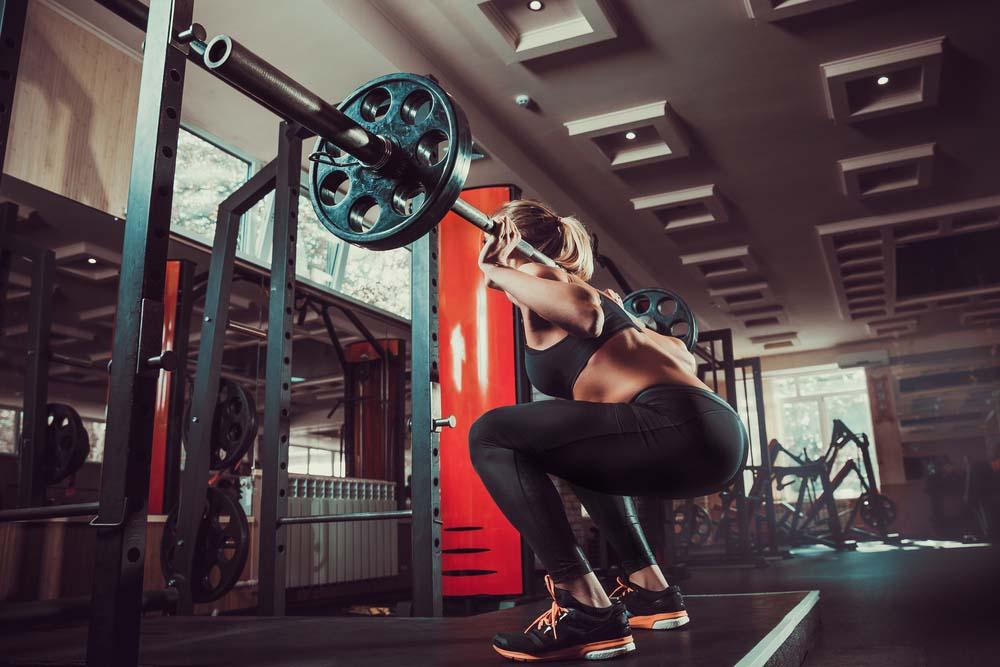 Le squat pour muscler les jambes