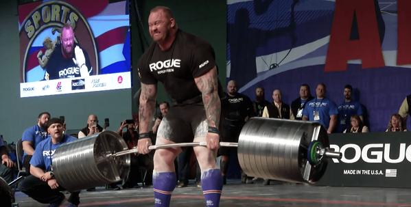 Thor Bjornsson bat son record au deadlift