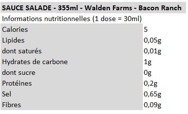 Walden Farm - vinaigrette bacon ranch