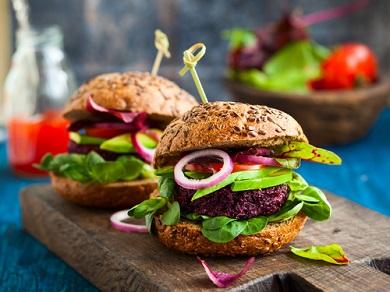Alimentation vegane transformée