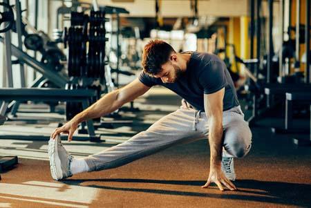 Ne vous étirez pas avant la musculation
