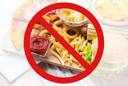 Ne consommez pas de fast-foods
