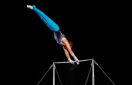 La barre fixe en gymnastique