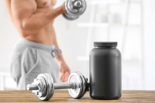 Caséine et construction musculaire