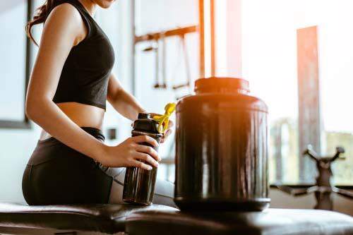 Caséine et définition musculaire