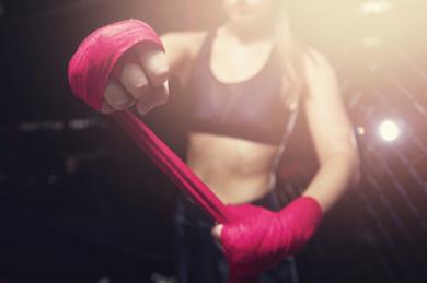 Monter de catégorie de poids sports de combat