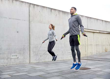 Le saut à la corde pour la perte de poids