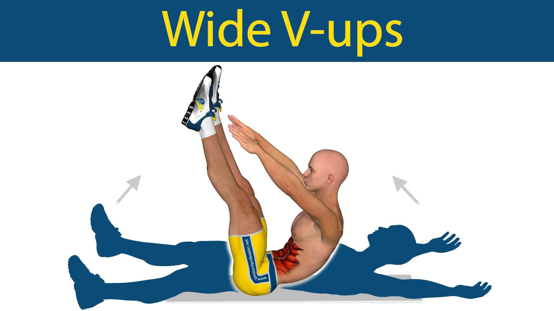 Crunch combiné V Up pour les abdos