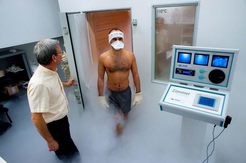 La cryothérapie et le sport