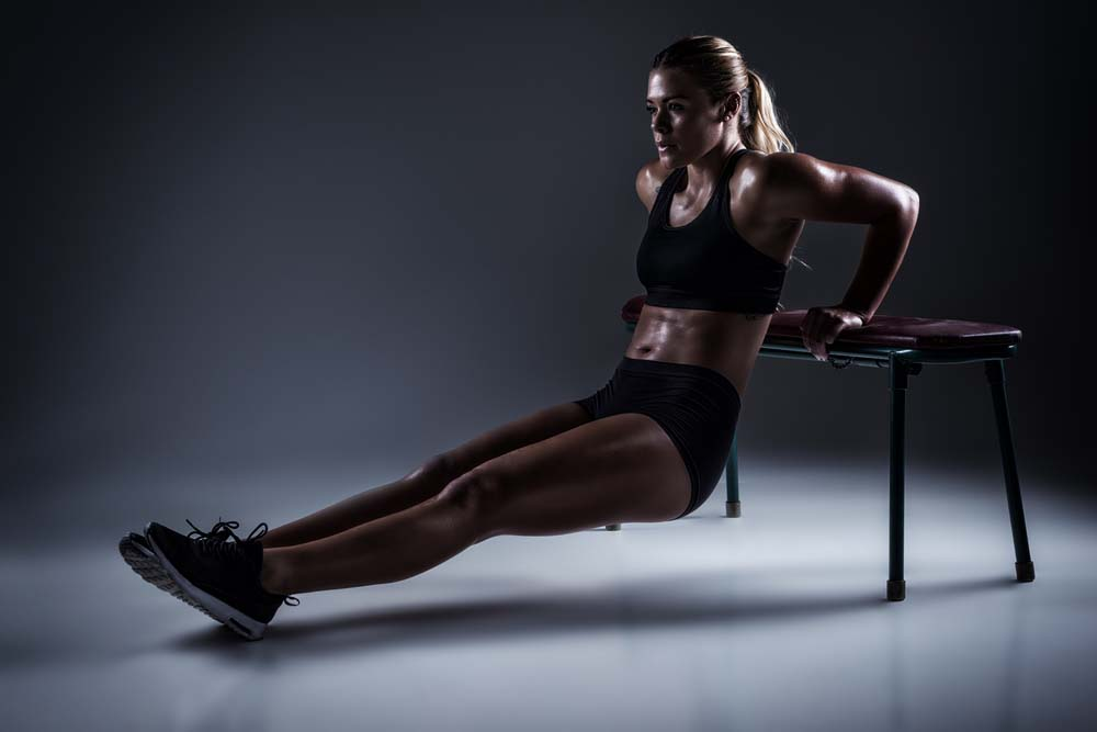 Dips femme triceps