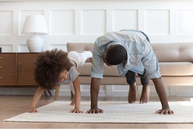 Les exercices pour le sport à la maison