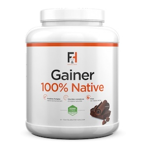 Gainer 100% Native Fit&Healthy