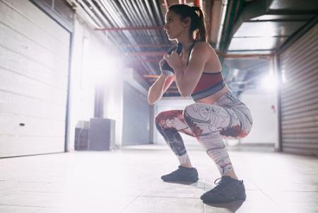 Le goblet squat