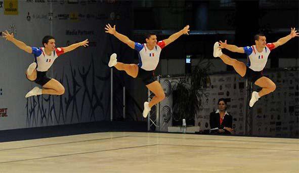 La gymnastique aérobic