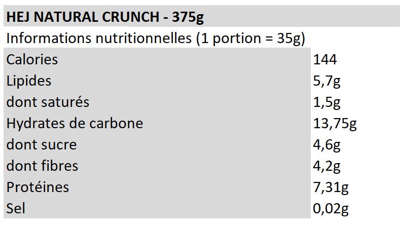 Hej Natural Crunch