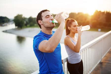 HIIT et hydratation