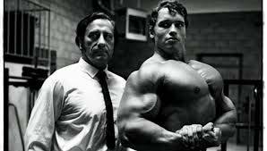 Joe Weider et Arnold Schwarzenegger