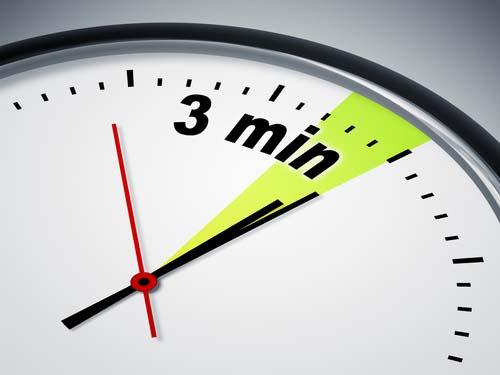 3 minutes en cryothérapie