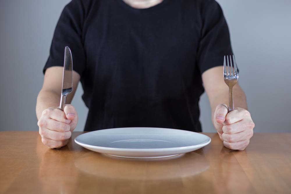 Avoir faim ne fait pas perdre du poids